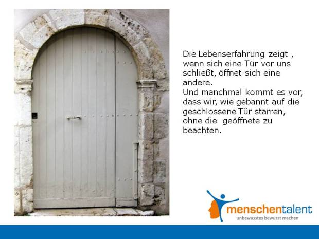 Geschlossene Türen